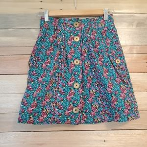 Urban Outfitters Cooperative Floral Pocket Skirt